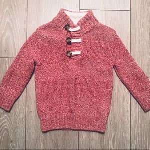 Cat & Jack red sweater 2T